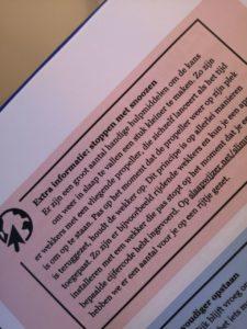 Op deze foto zie je een pagina uit het boek Perfect Slapen in 7 stappen over snoozen