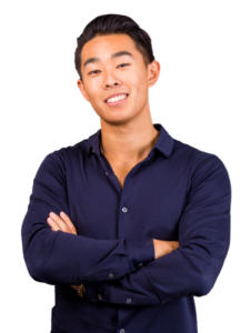 Op deze foto zie je Jia Ruan de verkoper van de Unstoppable Mindset