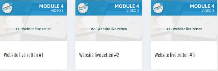 Op deze foto zie we module 4 van de Affiliate Marketing Revolutie
