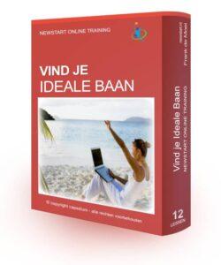 Op deze foto zie we de e-Cursus Vind Je Ideale Baan