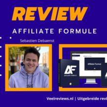 Affiliate Formule Review van Sebastien Debaenst + Ervaringen (2021)