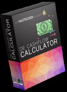 Op deze foto zie je de bonus Cashflow Calculator uit De Vrijheid Vastgoed