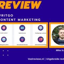 Writgo Content Marketing Review van Mike Schonewille (2021) + Ervaringen & Resultaten